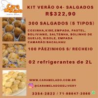 KIT VERÃO 04 - Salgados