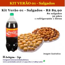 KIT VERÃO 01 - Salgados