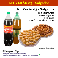 KIT VERÃO 03 - Salgados
