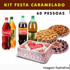 KIT FESTA 60 PESSOAS